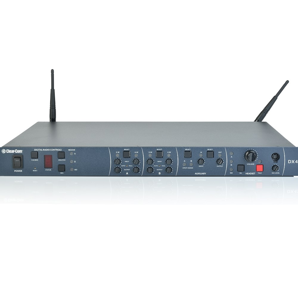419027c0d61 Clear-Com BS410 - HME DX410 Base Station with PSU and 2 x Antennas | Jands