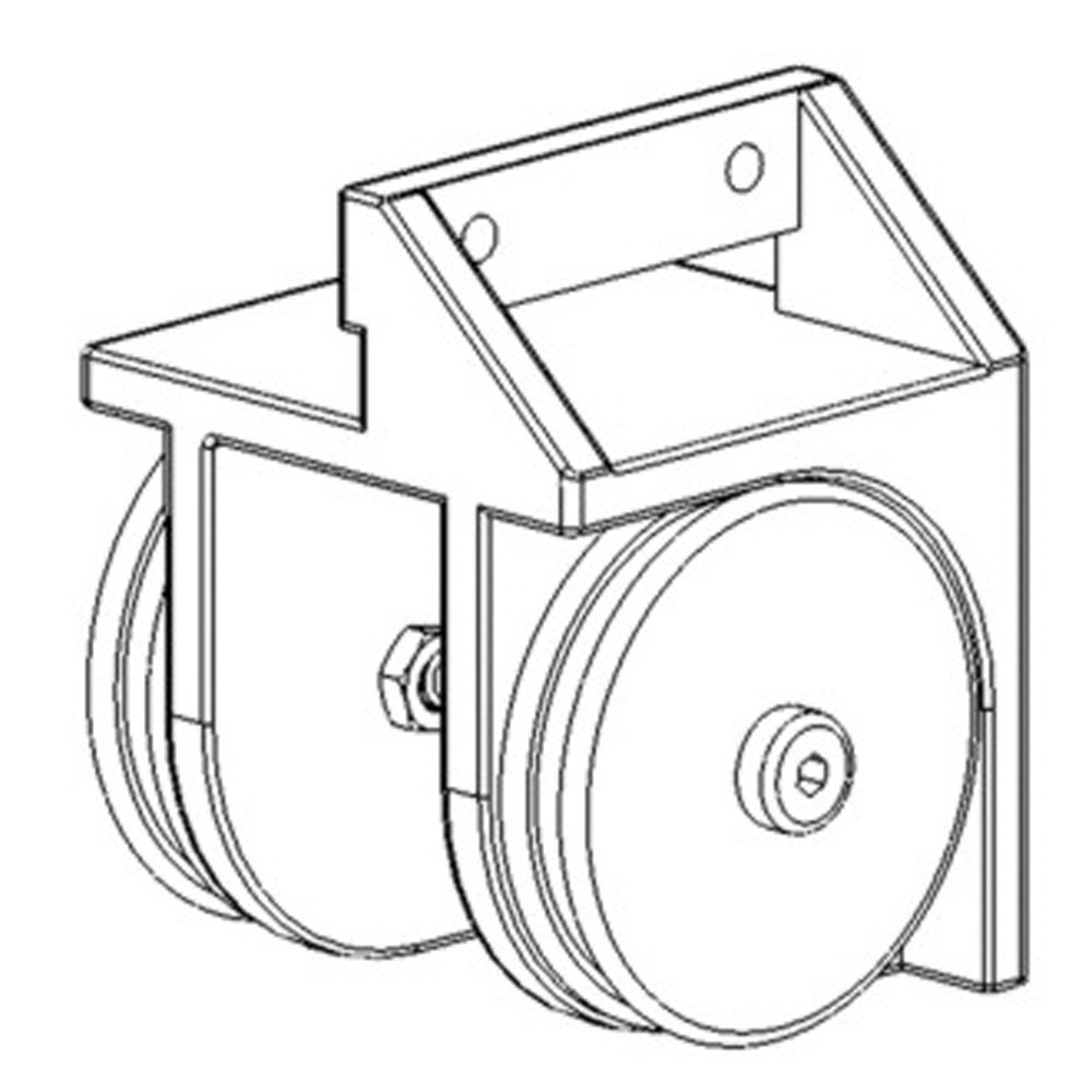 curtain pulley system diagram